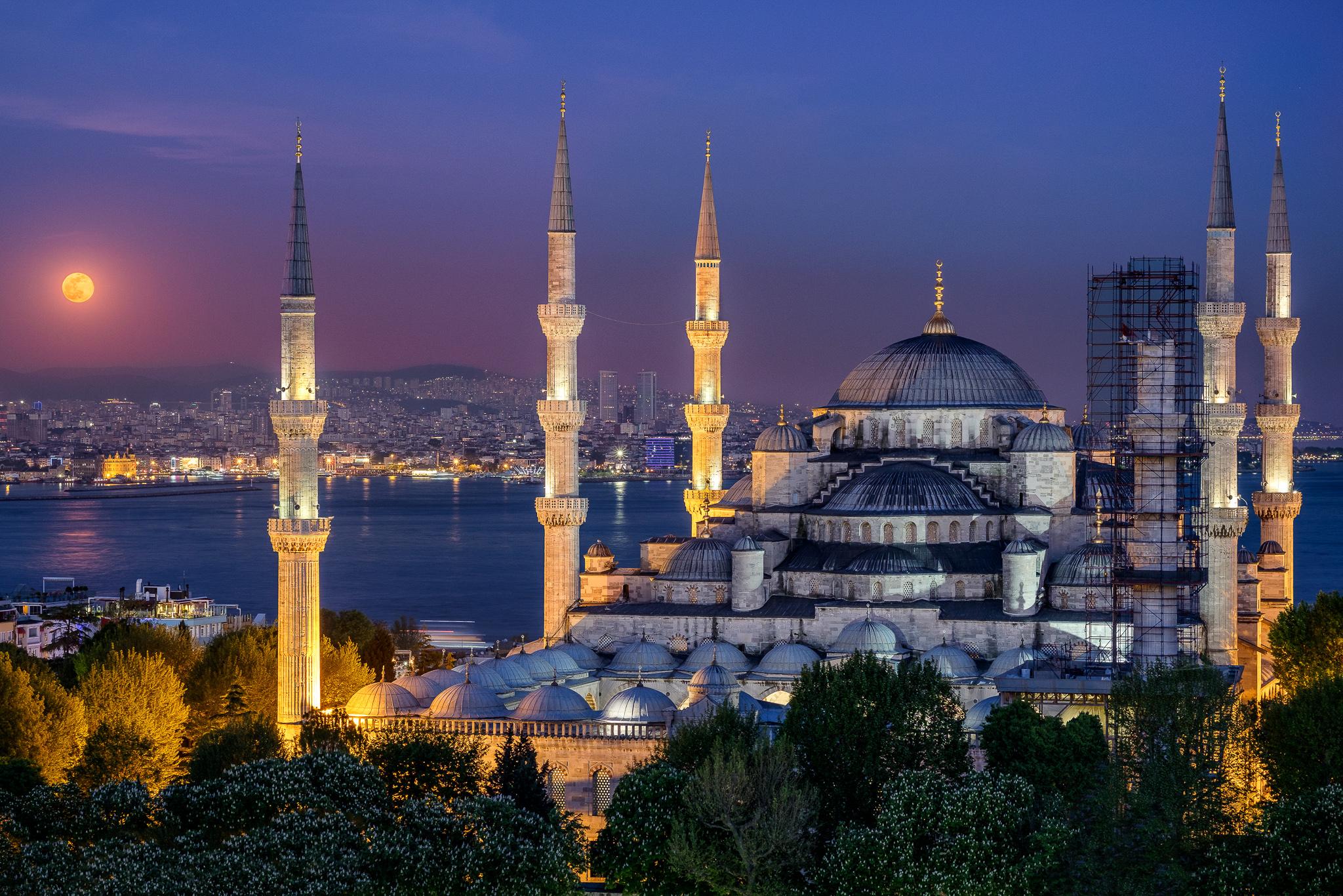 стамбул с голубой мечетью картинки фотографии